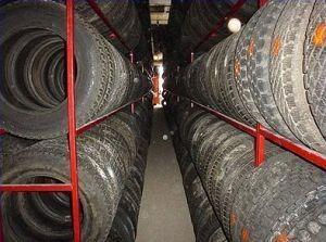 Стоимость сезонного хранения шин в Москве